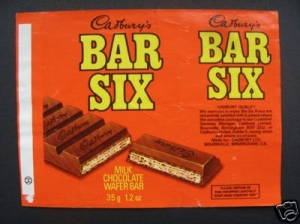 BAR SIX, CHOCOLATE BAR