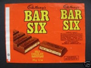 BAR SIX, CHOCOLATE BAR