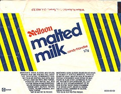 MALTED MILK, RETRO CHOCOLATE BAR