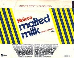 MALTED MILK, RETRO CHOCOLATE BAR